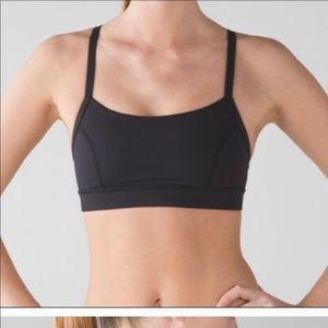 Rise and run lululemon size 4 bra
